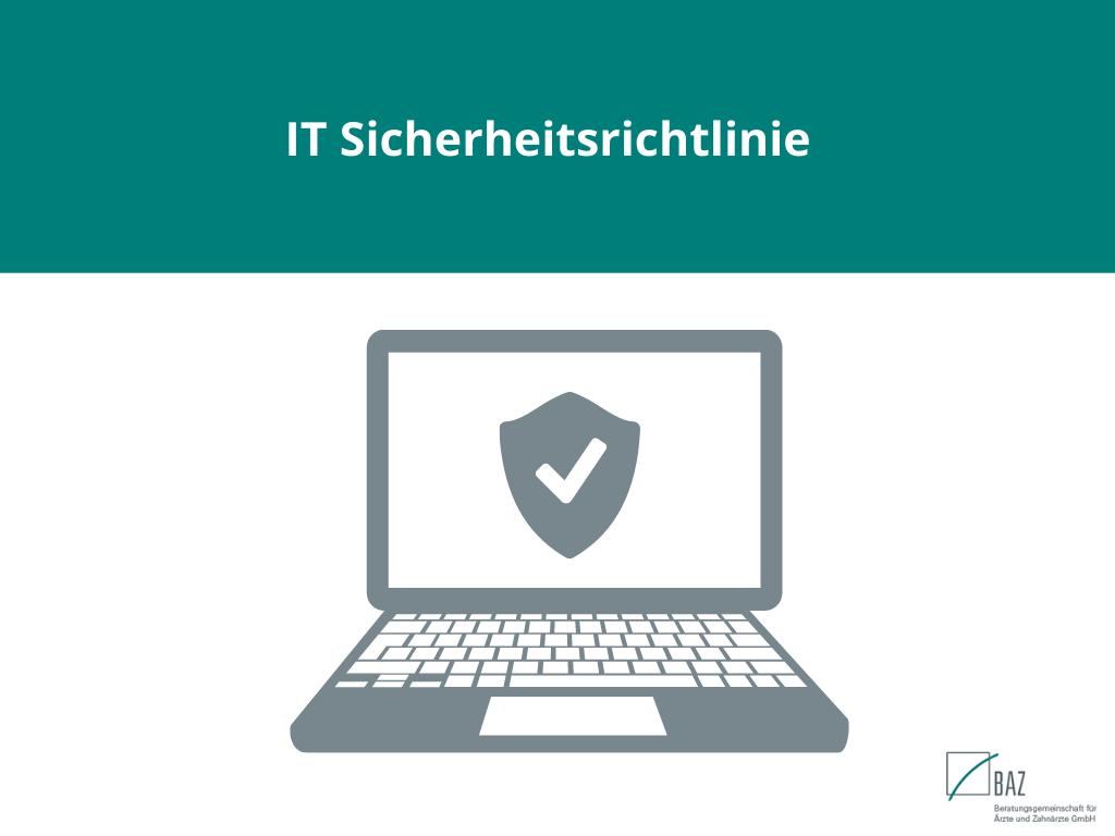 IT Sicherheitsrichtlinie